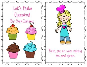 "Emergent Easy Reader: ""Let's Bake Cupcakes!"""
