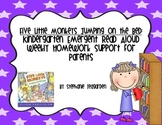 Emergent Read Aloud Home Support Pack: Five Little Monkeys