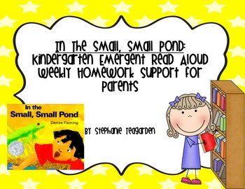 Emergent Read Aloud Home Support Pack: In the Small, Small Pond