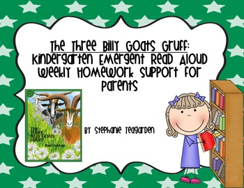 Emergent Read Aloud Home Support Pack: The Three Billy Goats Gruff