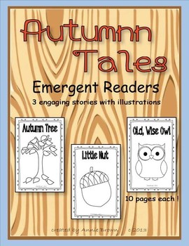 Emergent Reader 3 Pak - Autumn