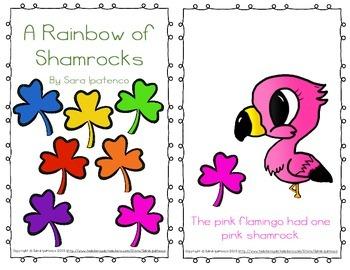 """Emergent Easy Reader: """"A Rainbow of Shamrocks"""""""
