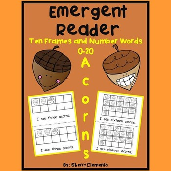 Acorns Emergent Reader