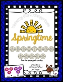 Spring Emergent Reader Addition Books