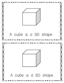 Emergent Reader:  All About the Cube