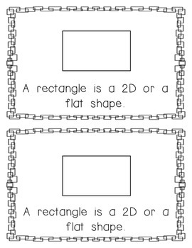 Emergent Reader: All About the Rectangle