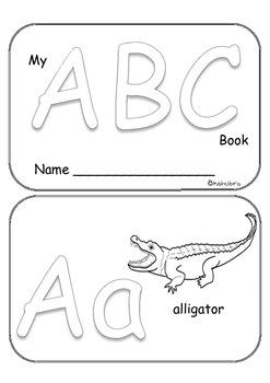 Emergent Reader Alphabet Book