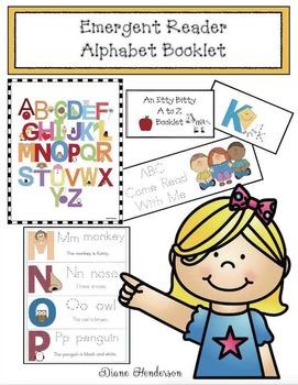 Emergent Reader Alphabet Booklet #3