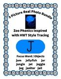 Emergent Reader Alphabet J ~ Real Pictures ~ Letter J ~ Zo
