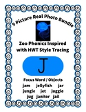 Emergent Reader Alphabet J ~ Real Pictures ~ Letter J ~ Zo