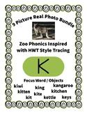 Emergent Reader Alphabet K ~ Real Pictures ~ Letter K ~ Zo