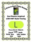 Emergent Reader Alphabet L ~ Real Pictures ~ Letter L ~ Zo