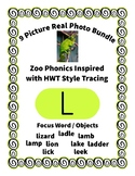 Emergent Reader Alphabet L ~ Real Pictures ~ Letter L ~ Zo