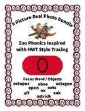 Emergent Reader Alphabet O ~ Real Pictures ~ Letter O ~ Zo