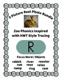 Emergent Reader Alphabet R ~ Real Pictures ~ Letter R ~ Zo