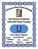 Emergent Reader Alphabet U ~ Real Pictures ~ Letter U ~ Zo