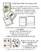 Emergent Reader Alphabet V ~ Real Pictures ~ Letter V ~ Zo