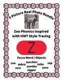 Emergent Reader Alphabet Z ~ Real Pictures ~ Letter Z ~ Zo