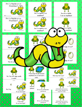 Emergent Reader!  Am I a Reptile or an Amphibian?