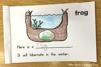 Emergent Reader - Animals in Winter ~ Hibernation