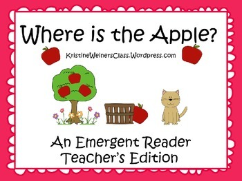 Emergent Reader - Apples - Teacher's Edition