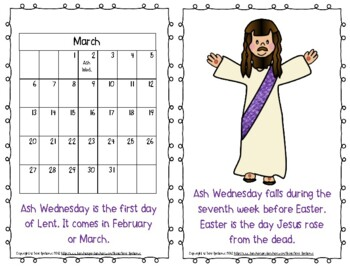 """Emergent Easy Reader: """"Ash Wednesday: The First Day of Lent"""""""