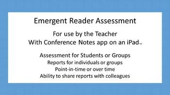 Emergent Reader Assessment