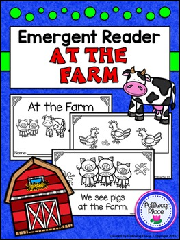 Emergent Reader Book - At the Farm