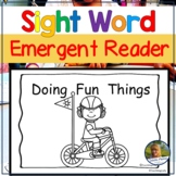 Emergent Readers | Sight Word Books for Kindergarten Doing