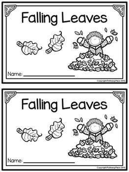 Emergent Reader Book - Falling Leaves