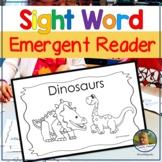 Emergent Reader Book Plus Lapbook Dinosaurs