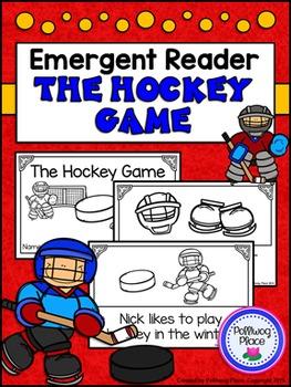 Emergent Reader Book - The Hockey Game