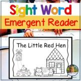 Emergent Reader Book The Little Red Hen Folktale