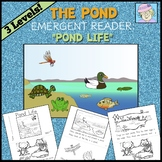 Science Kindergarten 1st Grade Book | Pond Life for Kindergarten 1st Grade
