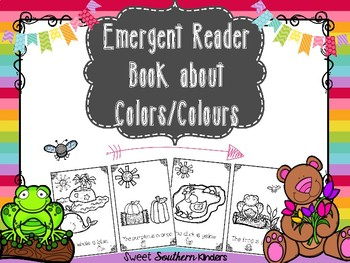 Emergent Reader Book about Colors