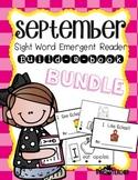 Emergent Reader Build-A-Book September Bundle