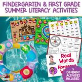 Summer Literacy Packet | Kindergarten | First Grade