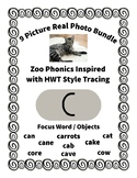Emergent Reader Bundle + ~ Real Pictures for the Letter C ~ ZooPhonics Inspired