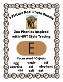 Emergent Reader Bundle + ~ Real Pictures for the Letter E