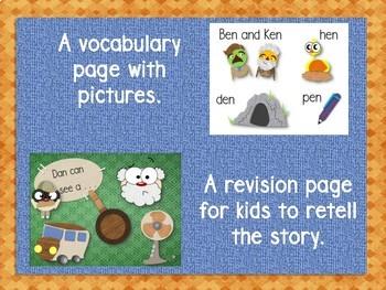 Emergent Reader Bundle: Word Families