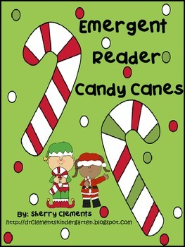 Candy Canes Emergent Reader