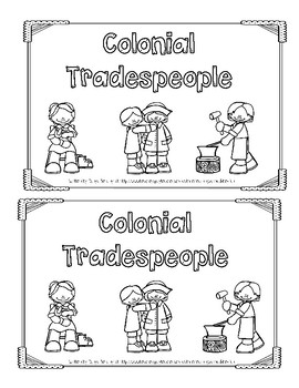 Emergent Reader: Colonial Tradespeople (Level 2)