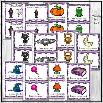 Colors Emergent Reader - Halloween
