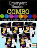 Emergent Reader Combo Pack {short vowels:  a, e, i, o, u}