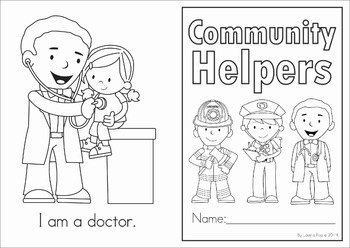 Emergent Reader - Community Helpers