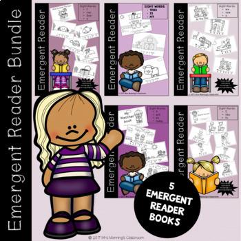 Emergent Reader / Concepts of Print - Bundle - 5 Books