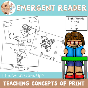 Emergent Reader / Concepts of Print / Sight Words - The Is Up