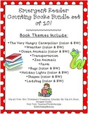Emergent Reader Counting Mini-Books Bundle Set of 10