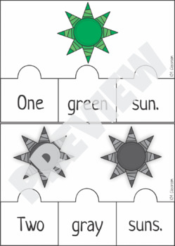 Emergent Reader Counting Suns Puzzle