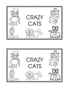 Emergent Reader - Crazy Cats